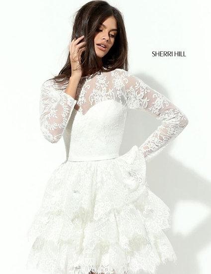 Sherri Hill 50686 Ivory