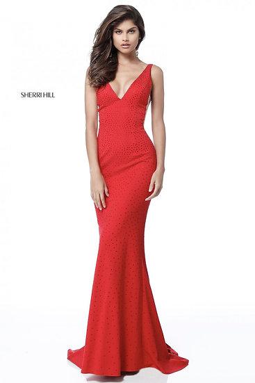 Sherri Hill 51635 Red