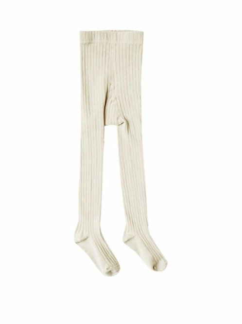 Rylee + Cru Solid Ribbed Tights Wheat