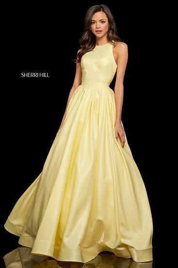 Sherri Hill 52958 Yellow