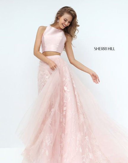 Sherri Hill 50787 Blush