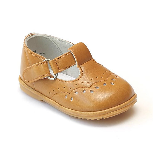 Angel Baby T-Strap Shoe Spicy Mustard Charlotee