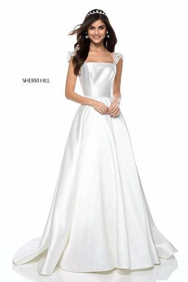 Sherri Hill 52045 Ivory