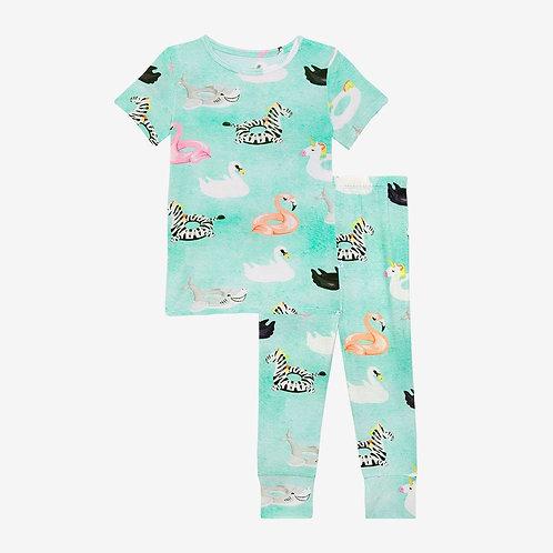 Posh Peanut Lenny Short Sleeve Basic Pajama