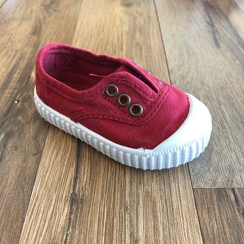 Victoria Elastic Slip-on Red