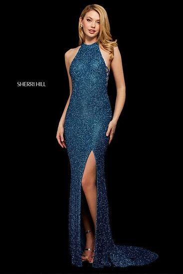 Sherri Hill 53131 Peacock