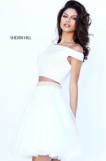 Sherri Hill 50497 Ivory