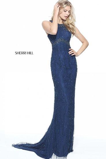 Sherri Hill 51241 Navy