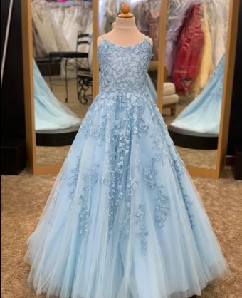 Sherri Hill K53103 Light Blue
