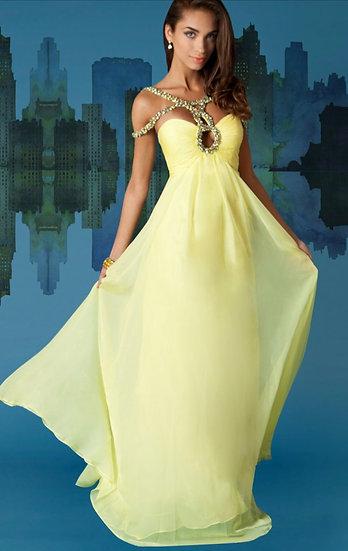 Sherri Hill 1455 Yellow