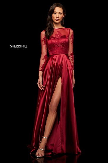 Sherri Hill 52765 Wine