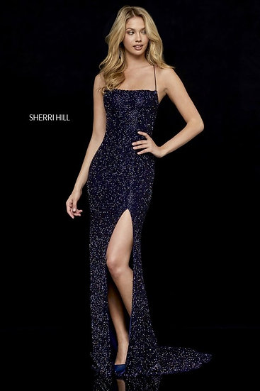 Sherri Hill 52268 Navy