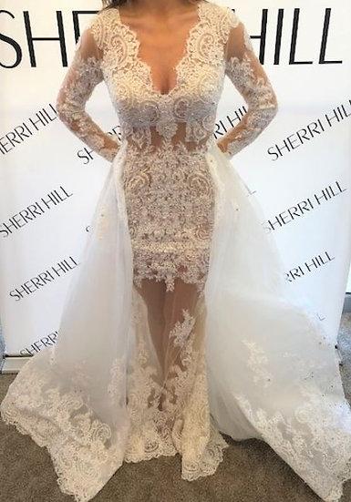 Sherri Hill 52026 Ivory