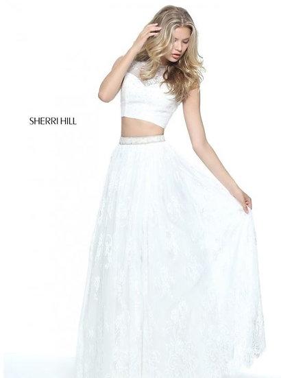 Sherri Hill 51118 Ivory