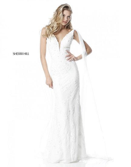Sherri Hill 51599 Ivory