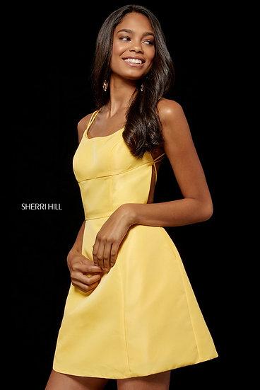 Sherri Hill 52154 Yellow