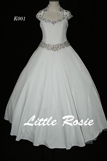 Little Rosie K001 White