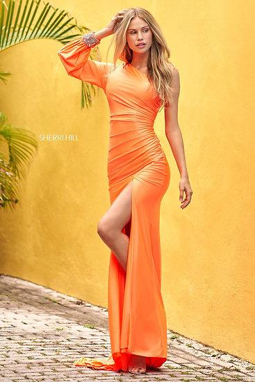 Sherri Hill 54421 Light Orange