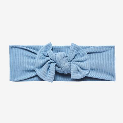 Posh Peanut Ribbed Headband Storm Blue