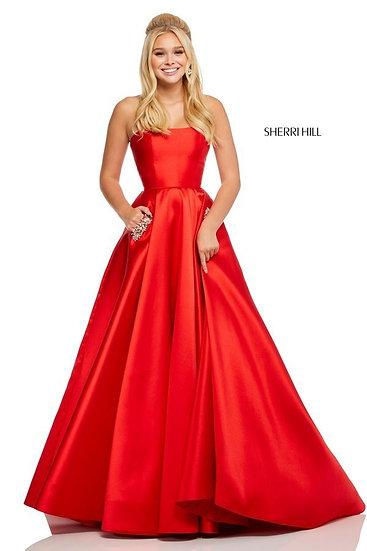 Sherri Hill 52724 Red