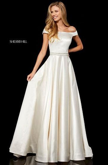Sherri Hill 52332 Ivory