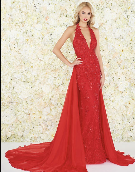 Mac Duggal 66573R Red