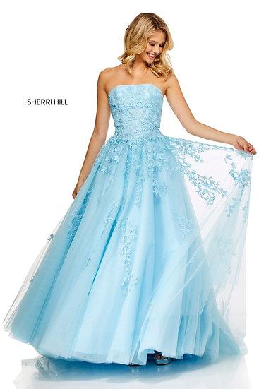 Sherri Hill 52341 Light Blue