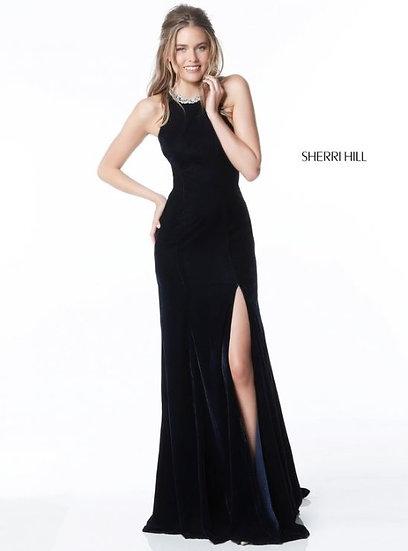 Sherri Hill 51400 Navy