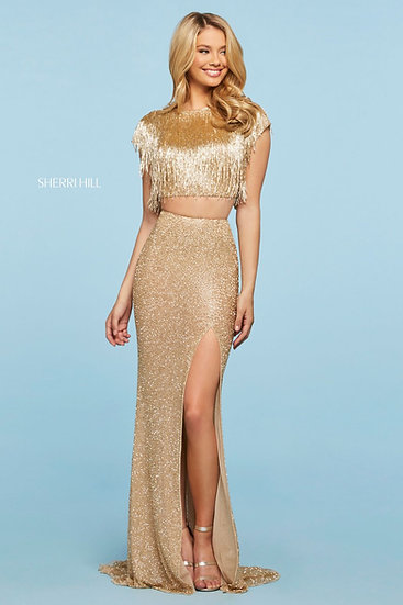 Sherri Hill 53458 Gold