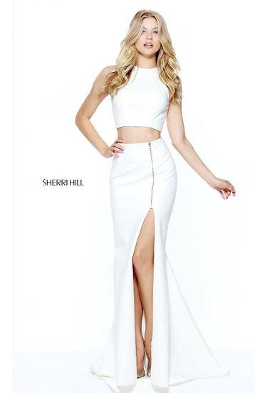 Sherri Hill 50881 Ivory