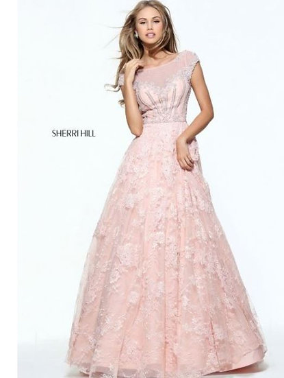 Sherri Hill 51010 Blush