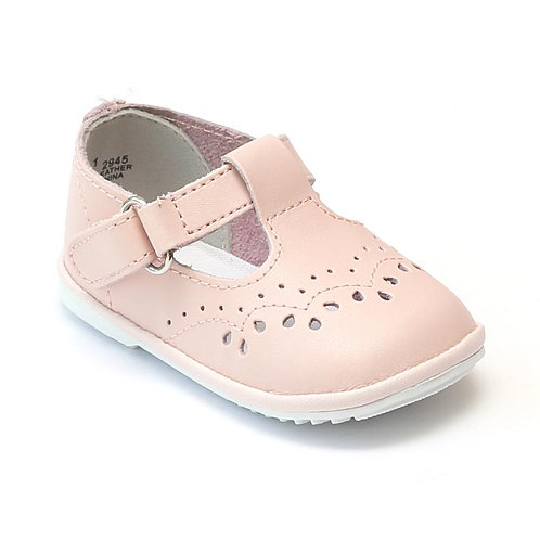 Angel Baby T-Strap Shoe Pink