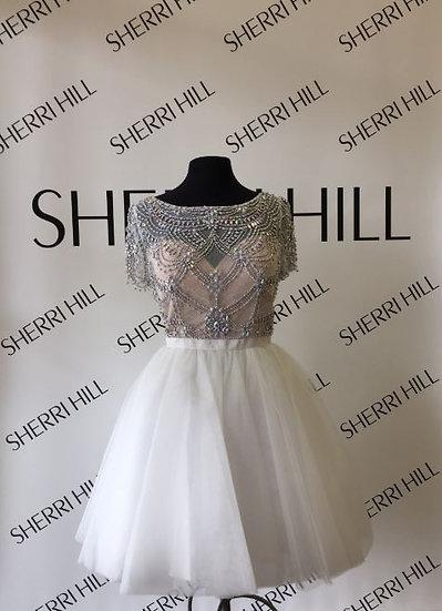 Sherri Hill 50709  Ivory