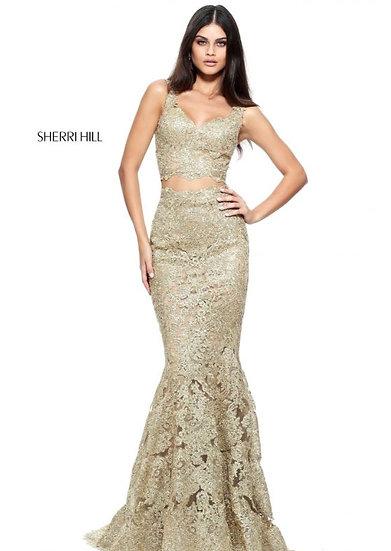 Sherri Hill 51192 Gold