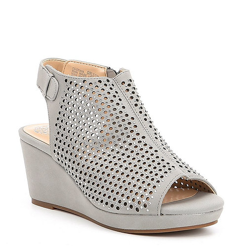 Vince Camuto Oriana Gray Open Toe Wedge