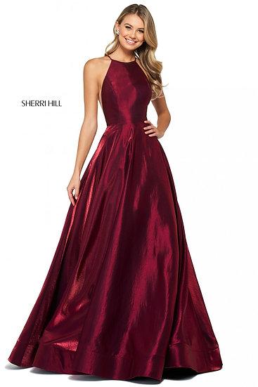 Sherri Hill 53350 Wine