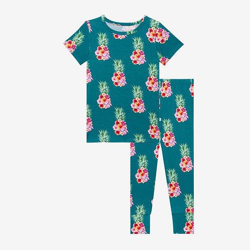 Posh Peanut Ananans Short Sleeve Basic Pajama