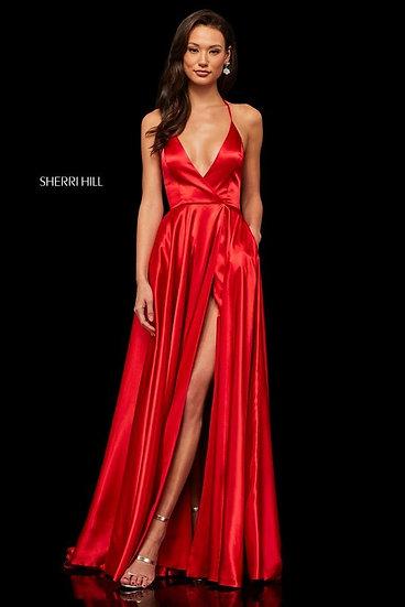 Sherri Hill 52921 Red