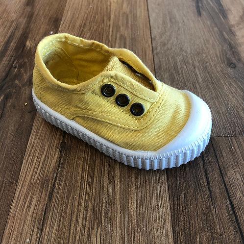 Victoria Elastic Slip-on Yellow