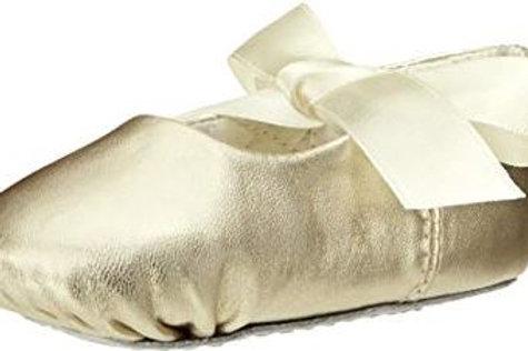 Baby Deer Ballet Flat Gold