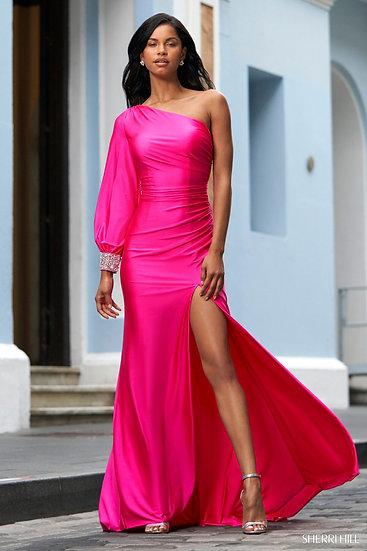 Sherri Hill 54421 Bright Pink