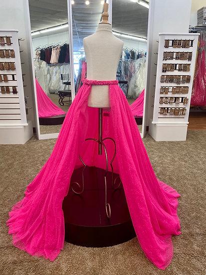 Sherri Hill K54825S Neon Pink