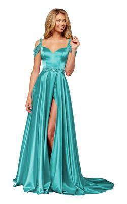 Sherri Hill 52388 Turquoise