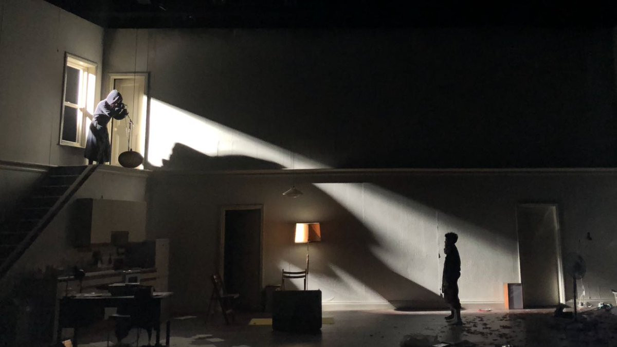 Grief is a thing with feathers Starring Cillian Murphy Designed by Jamie Varton