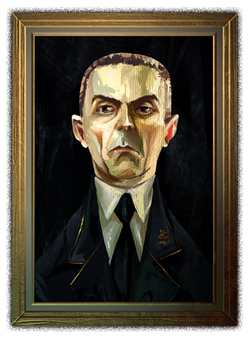 Professeur Krach portrait