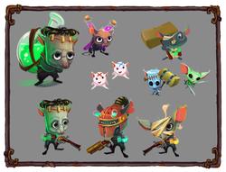 Recherches Character Design