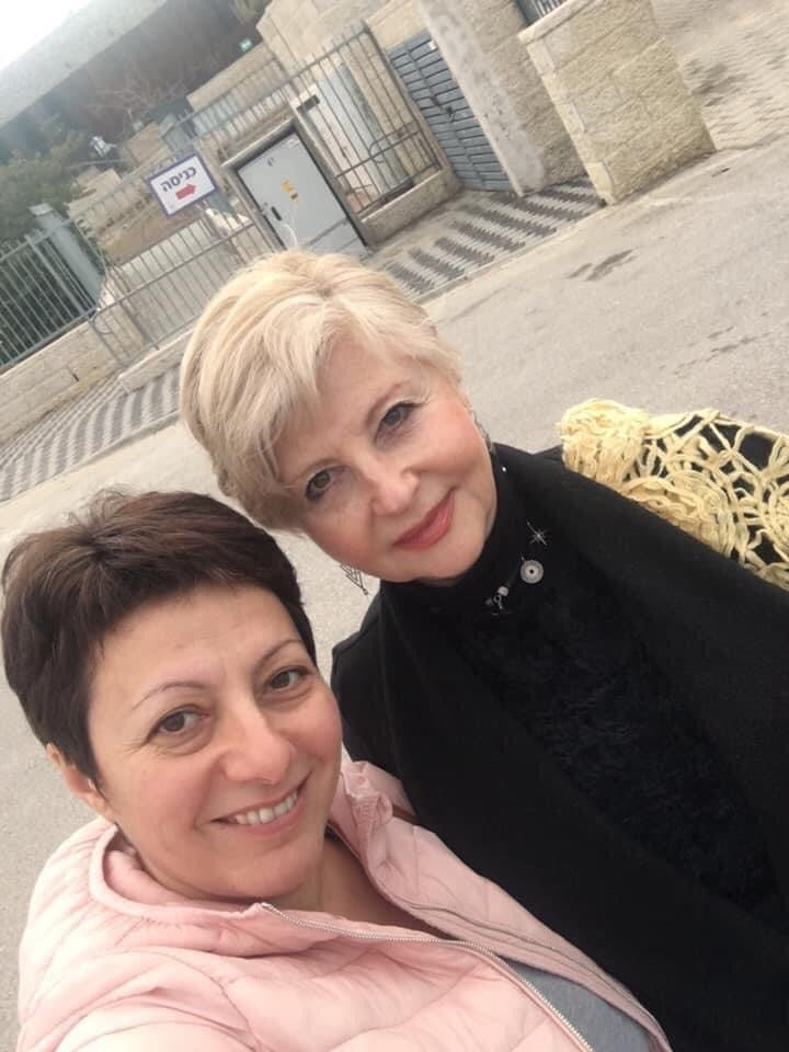 Anna Kanter and Alla Kechedjan