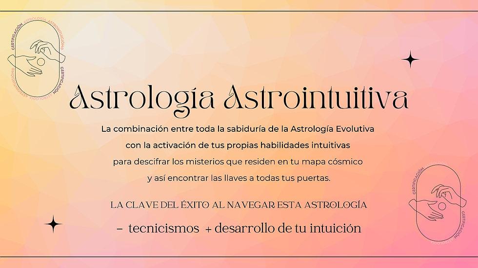 Masterclass - Introducción a la Astrolo