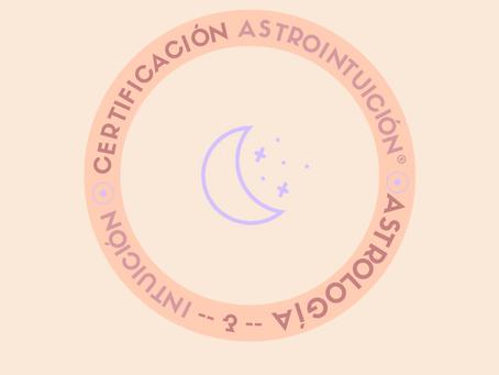 Certificación online de Astrointuición® Tu trabajo puede ser ayudar guiando