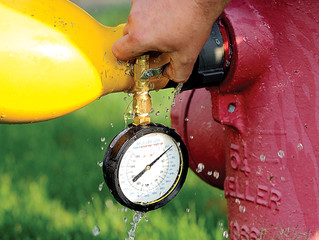 Clark County GIS Innovates Fire Hydrant Flowing